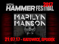 Buy tickets for festival METAL HAMMER FESTIVAL 2017 - MARILYN MANSON - Spodek - Katowice - Friday, July 21, 2017, 14:00