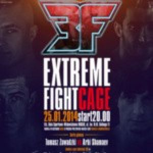 Extreme Fight Cage - gala walk MMA