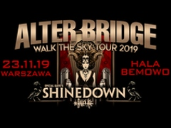 Buy tickets for concert Alter Bridge + special guests: Shinedown, The Raven Age - Hala Bemowo - Warszawa - Saturday, November 23, 2019, 19:30