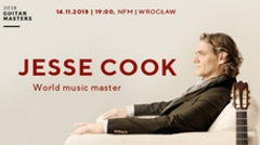 Buy tickets for concert JESSE COOK - Narodowe Forum Muzyki - Wrocław - Wednesday, November 14, 2018, 19:00