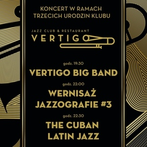 Vertigo Big Band - Jazzografie #3 - The Cuban Latin Jazz