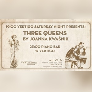 Three Queens by Joanna Kwaśnik - Piano Bar