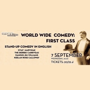World Wide Comedy: First Class - Stand-Up Comedy in English