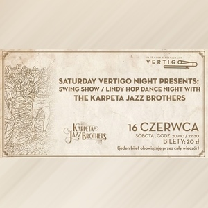 Swing Show - Lindy Hop Dance Night with The Karpeta Jazz Brother
